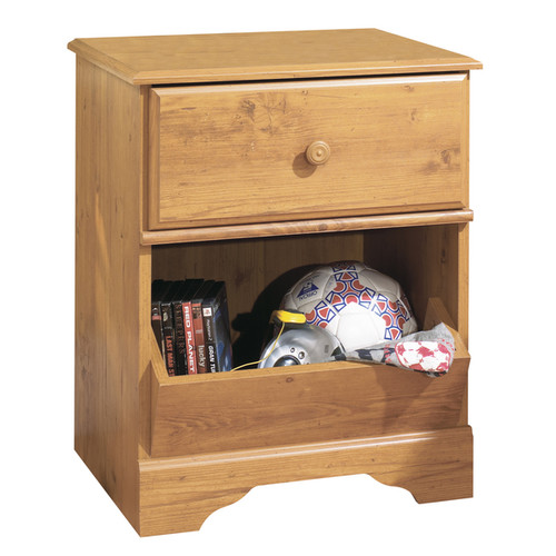 South Shore Little Treasures 1-drawer Night Stand