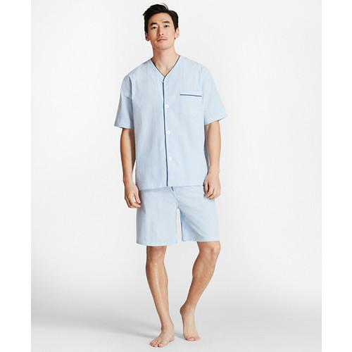 Seersucker Short Pajamas