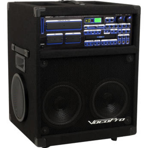 Twister-7000 250W Professional Variable-Speed CD/CD+G Karaoke System with Digital Reverb