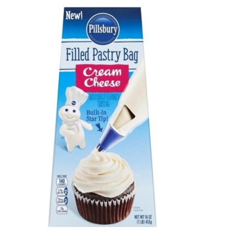 Pillsbury Cream Cheese Filled Pastry Bag - 16oz