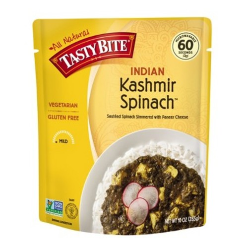 Tasty Bite 1 Step Kashmir Spinach Indian Cuisine 10 oz