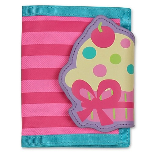 Stephen Joseph Cupcake Wallet in Pink