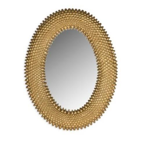 Safavieh Perugia Oval Mirror in Antique G