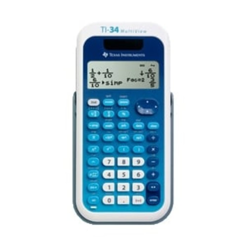Texas Instruments TI-34 MultiView Calculator - TI-34 Multi View Calculator