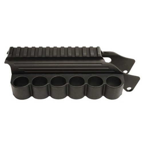 TacStar Tactical Railmount with Slimline Sidesaddle [Mossberg 500 and 590]