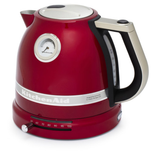 KitchenAid Pro Line Candy Apple Red Electric Kettle