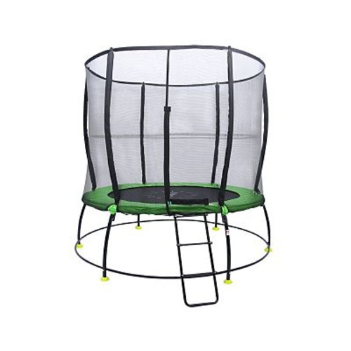 Outward Hyper Jump Spring-less 8' Round Trampoline w/ Safety Enclosure