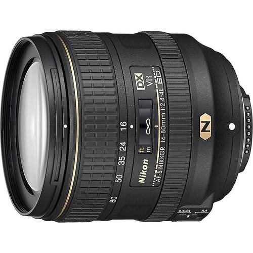 Nikon AF-S DX Nikkor 16-80mm f/2.8-4E ED VR Wide-angle zoom lens for DX format Nikon DSLR cameras