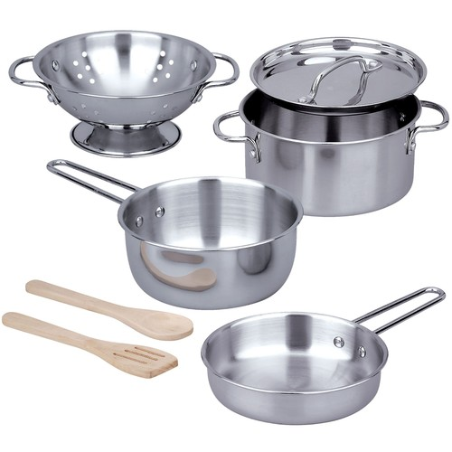 Melissa \u0026 Doug Let's Play House Pots \u0026 Pans Set