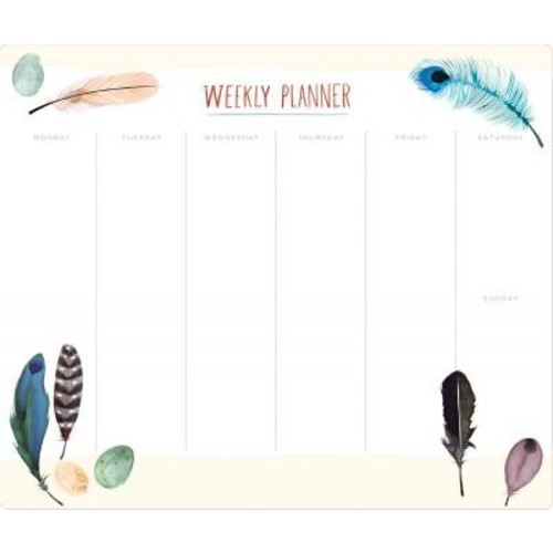 Feathers Desk Pad (Stationery)