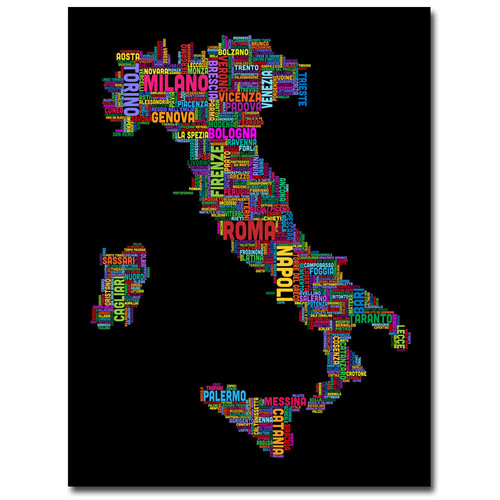 Trademark Global Michael Tompsett 'Italy VI' Canvas Art [Overall Dimensions : 35x47]
