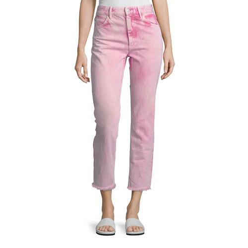 ETOILE ISABEL MARANT Flovera High-Waist Cropped Jeans