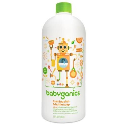 Babyganics Foaming Dish & Bottle Soap - Citrus - 32 oz