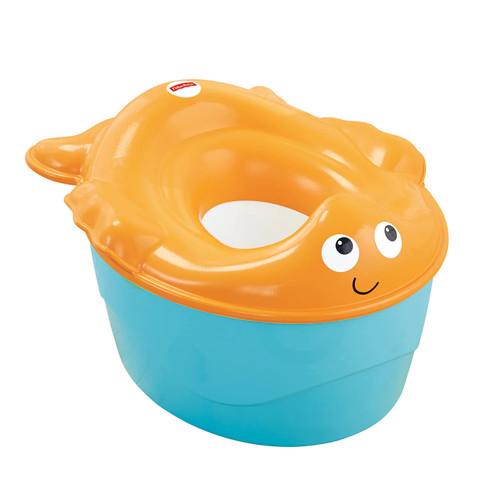 Fisher-Price 3-in-1 Goldfish Potty Orange/Blue