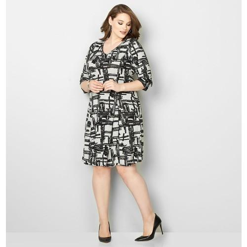 Crosshatch Godet Hacci Dress
