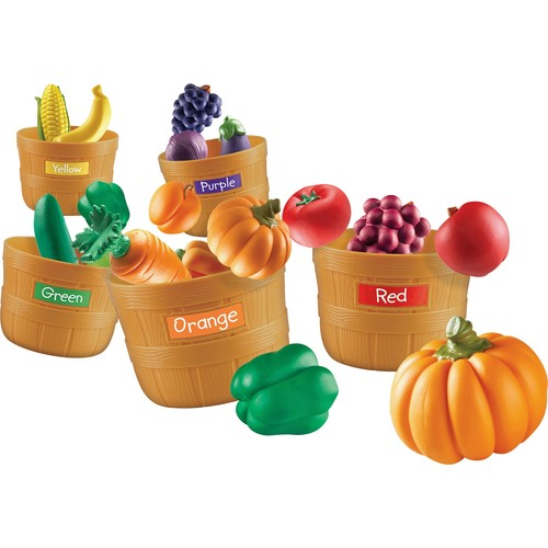 Learning Resources Farmers Markert Color Sorting Set 4