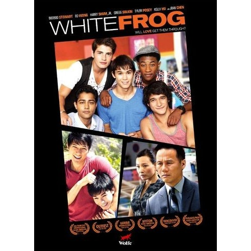 White Frog...