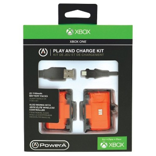 PowerA - Play and Charge Kit for Xbox One