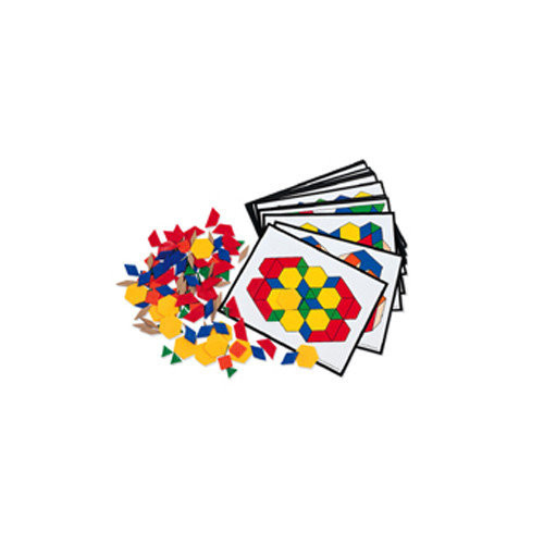 Learning Resources Pattern Block Activity Pk 124