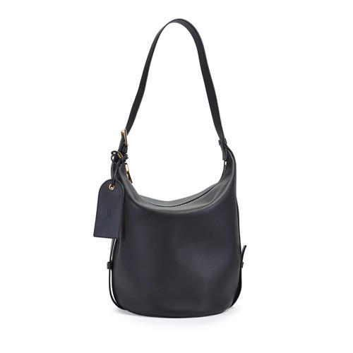 TOM FORD Grace Leather Belt Bucket Bag, Black