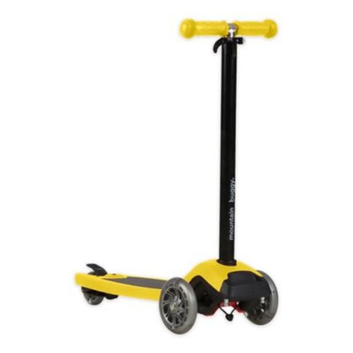 Mountain Buggy freerider Stroller Board And Scooter in Yellow