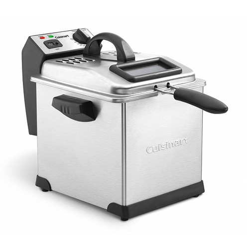 Cuisinart CDF-170 Deep Fryer, 3.4 quart, Stainless Steel [Cuisinart Deep Fryer]