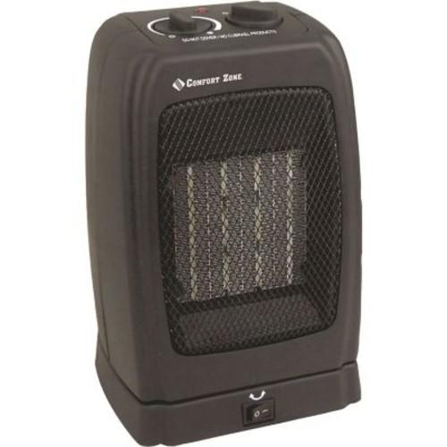 Comfort Zone 1,500 Watt Portable Compact Electric Fan Heater