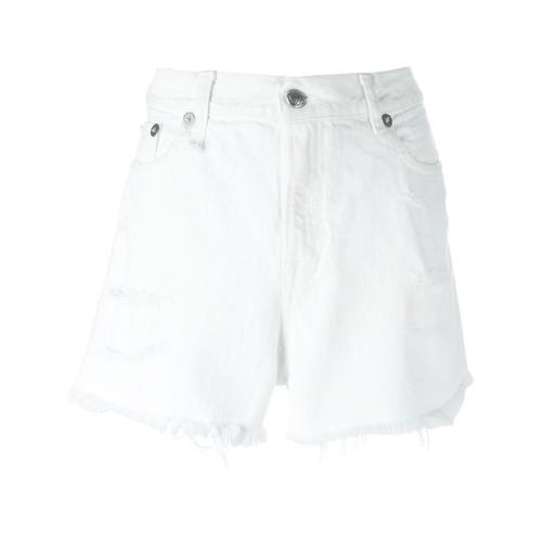 R13 Shredded Slouch Shorts
