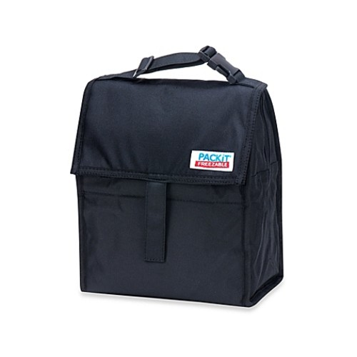PackIt Freezable Lunch Bag in Black
