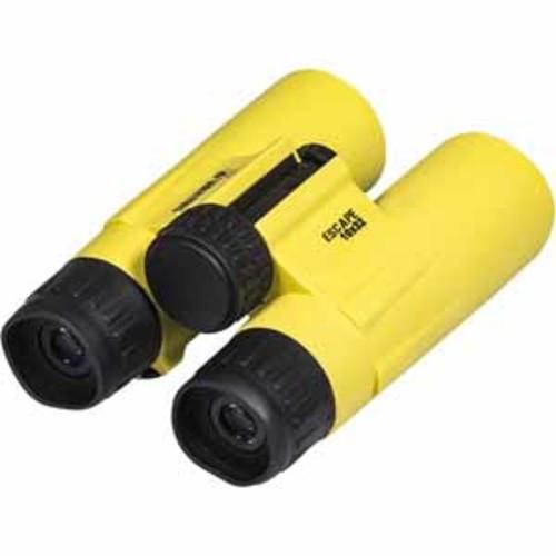 12 Survivors Escape 10x32 Binoculars - Yellow