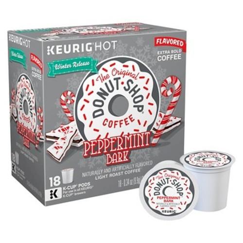 The Original Donut Shop Peppermint Bark Light Roast Coffee Keurig K-Cup Pods - 18ct