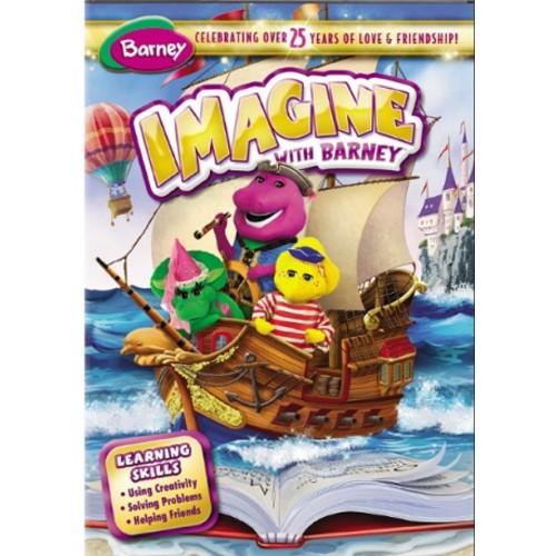 Barney: Imagine with Barney (DVD) (Eng/Spa) 2013