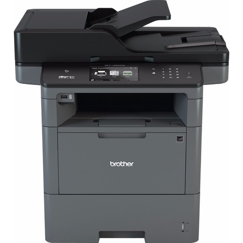 Brother - MFC-L6800DW Wireless Black-and-White All-In-One Laser Printer