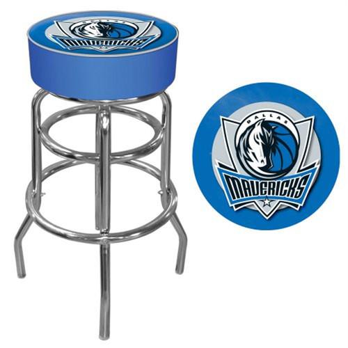 Trademark Gameroom NBA Dallas Mavericks Padded Swivel Bar Stool