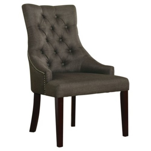 Dining Chairs Acme Furniture Gray Walnut