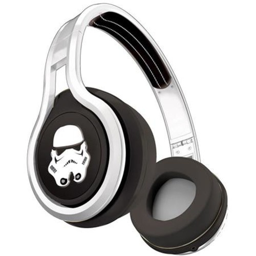 SMS Audio Street By 50 Star Wars Stormtrooper Wired On-Ear Headphones with Mic SMS-ONWD-SW-STORM