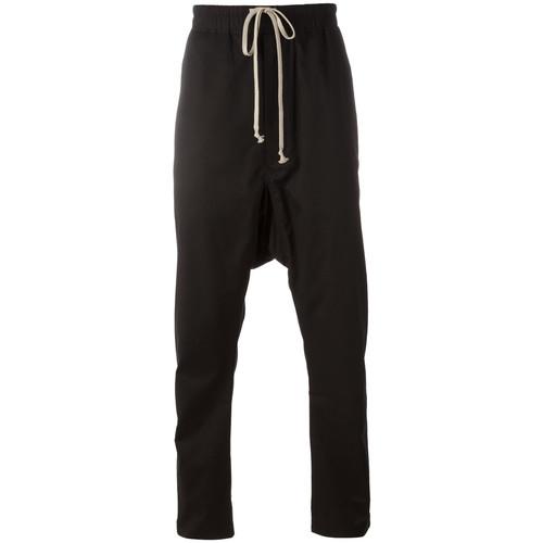 drawstring cropped pants