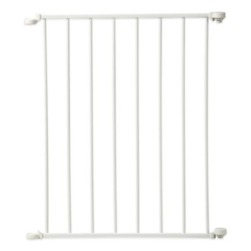 KidCo Command Fit Extension Gate in White