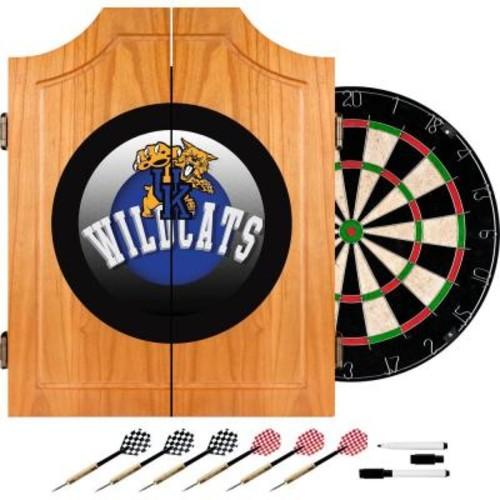 Trademark Global University of Kentucky Honeycomb 20.5 in. Wood Dart Cabinet Set