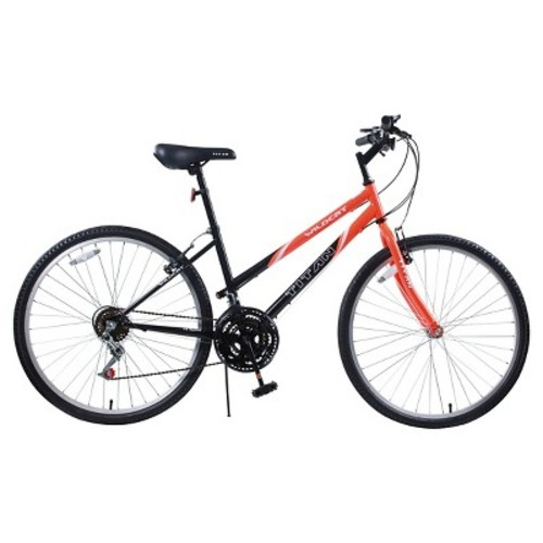 Titan Wildcat Womens Mountain Bike - Orange & Black
