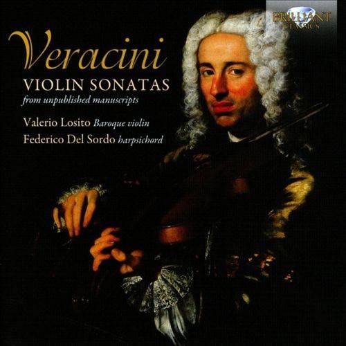 Veracini: Violin Sonatas from Unpublished Manuscripts [CD]