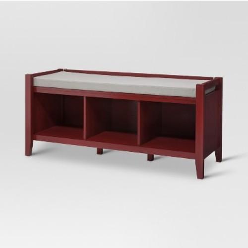 Open Storage Bench Wood - Threshold
