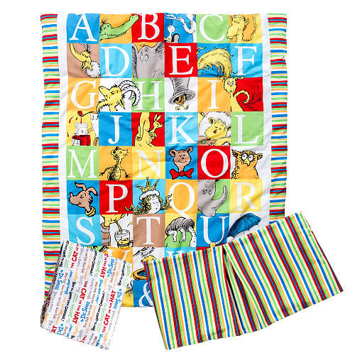 Trend Lab Dr. Seuss Alphabet Seuss 3-Piece Crib Bedding Set
