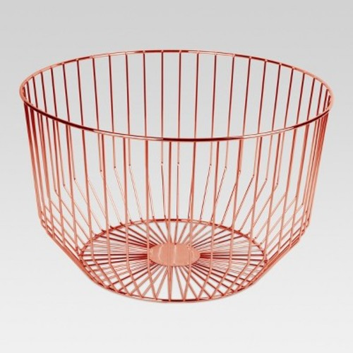 Round Wire Basket Large - Copper - Project 62