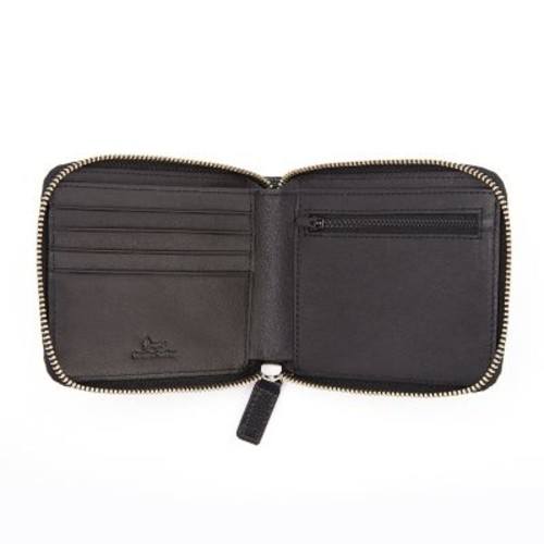 Royce Leather RFID Blocking Zip Around Wallets