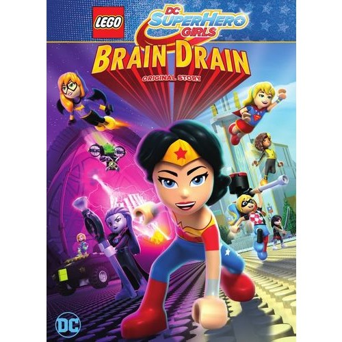 LEGO DC Super Hero Girls: Brain Drain [DVD]