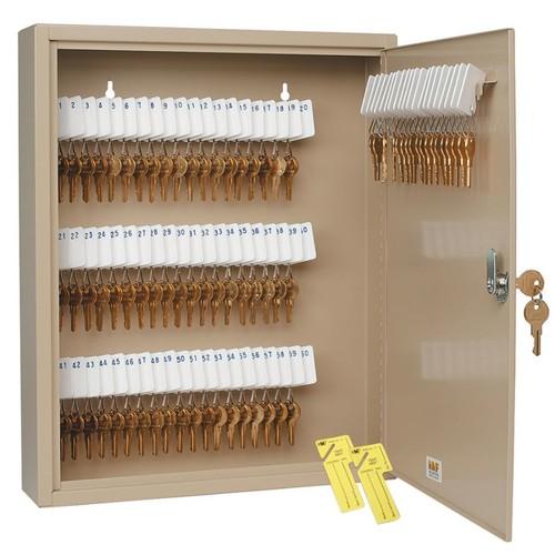 STEELMASTER Unitag 80-Key Cabinet, Sand