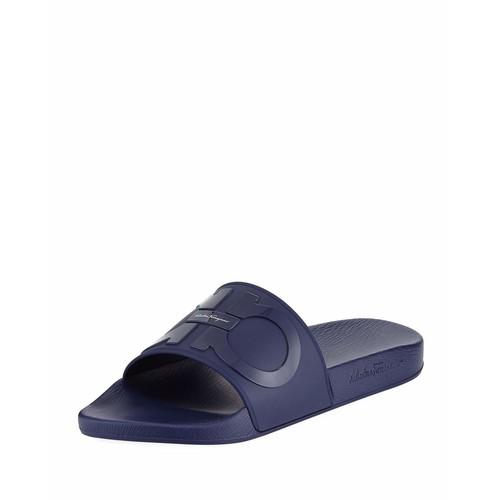 Men's Gancini Pool Slide Sandal, Blue