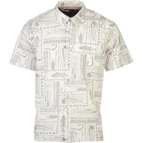 Quiksilver Waterman Clifton Beach Shirt - Short-Sleeve - Men's