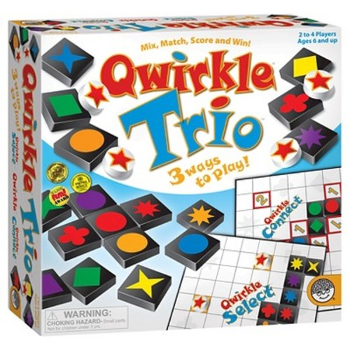 MindWare Qwirkle Trio 3-in-1 Game